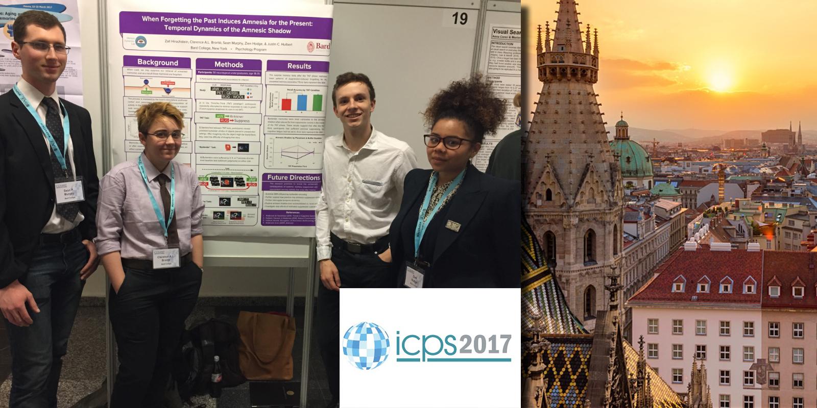 Gedächtnisdynamik: Lab presents at ICPS in Vienna